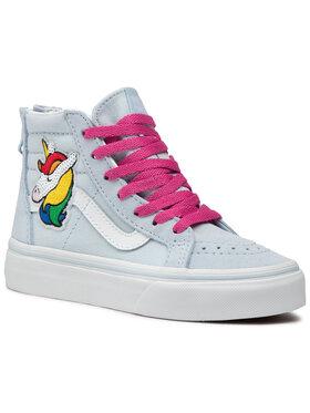 Vans Vans Sneakersy Sk8-Hi Zip VN0A4BUX34C1 Niebieski