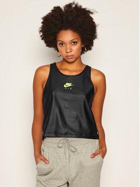 NIKE NIKE Тениска от техническо трико Air CU3044 Черен Standard Fit