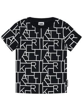 KARL LAGERFELD KARL LAGERFELD T-shirt Z25279 S Crna Regular Fit