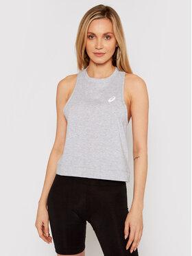 Asics Asics Marškinėliai Jane 2032B952 Pilka Slim Fit