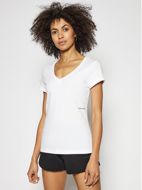 Calvin Klein Jeans Calvin Klein Jeans Marškinėliai J20J215704 Balta Regular Fit