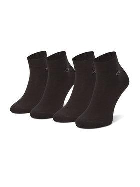 Calvin Klein Calvin Klein Σετ κοντές κάλτσες ανδρικές 2 τεμαχίων 100001872 Μαύρο