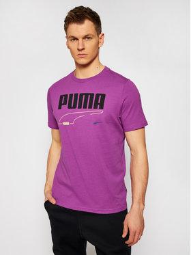 Puma Puma T-Shirt Rebel Tee 585738 Μωβ Regular Fit