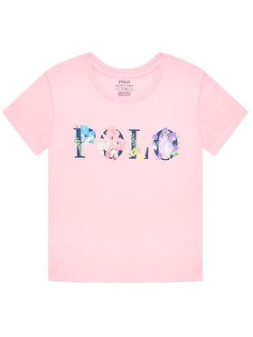 Polo Ralph Lauren Polo Ralph Lauren T-Shirt Graphic 312837218001 Różowy Regular Fit