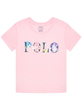 Polo Ralph Lauren Polo Ralph Lauren Тишърт Graphic 312837218001 Розов Regular Fit
