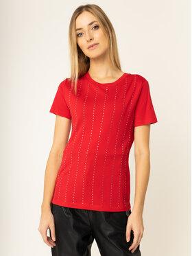 Guess Guess T-Shirt Krystal Tee W01I70 K46D0 Rot Regular Fit
