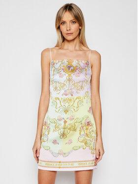 Versace Jeans Couture Versace Jeans Couture Лятна рокля D2HWA448 Цветен Slim Fit
