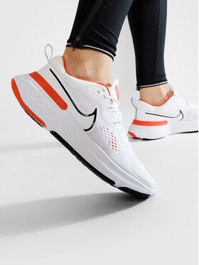 Nike Nike Boty React Miler 2 CW7121 100 Bílá
