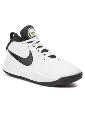 Nike Nike Обувки Team Hustle D 9 (Gs) AQ4224 100 Бял