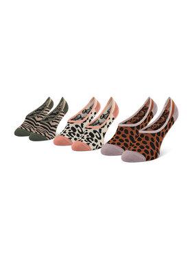 Vans Vans 3er-Set Damen Sneakersocken 3Pk VN0A5I1W4481 r.31,5-36 Bunt