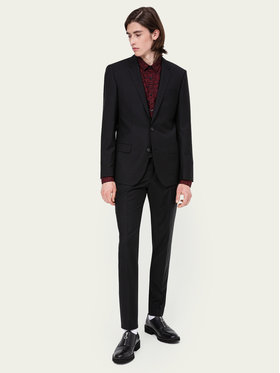 Hugo Hugo Costum Henry/Griffin182 50383613 Negru Slim Fit