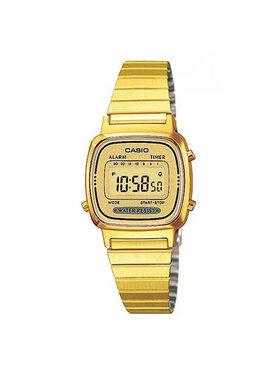 Casio Casio Ρολόι Vintage LA670WEGA-9EF Χρυσό