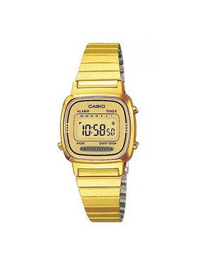 Casio Casio Uhr Vintage LA670WEGA-9EF Goldfarben