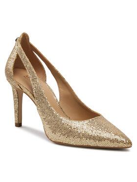 MICHAEL Michael Kors MICHAEL Michael Kors Pantofi cu toc subțire Cersei 40S1CSMS1D Auriu
