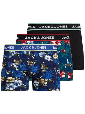 Jack&Jones Jack&Jones Komplet 3 par bokserek Flower 12171253 Kolorowy