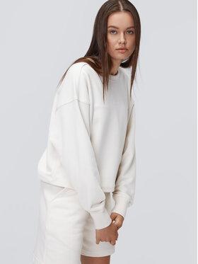 Sprandi Sprandi Majica dugih rukava AW21-BLD009 Bijela Relaxed Fit