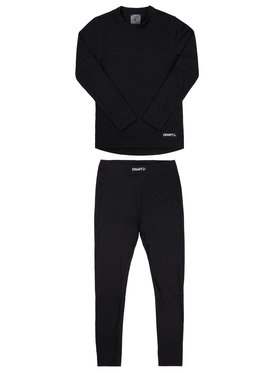 Craft Craft Ensemble sous-vêtements termiques Baselayer 1905355 Noir Slim Fit
