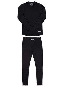 Craft Craft Komplet termoaktivního prádla Baselayer 1905355 Černá Slim Fit