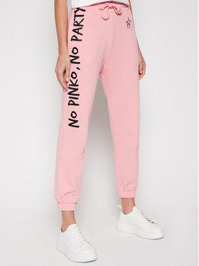 Pinko Pinko Teplákové nohavice Enologia PE 21 PRR 1N1342 Y7ED Ružová Regular Fit
