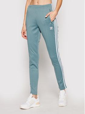 adidas adidas Melegítő alsó Sst Pants Pb GN2947 Zöld Slim Fit