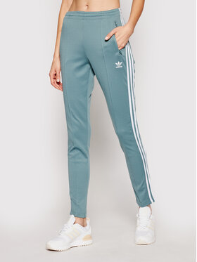 adidas adidas Παντελόνι φόρμας Sst Pants Pb GN2947 Πράσινο Slim Fit