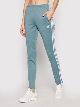 adidas adidas Spodnie dresowe Sst Pants Pb GN2947 Zielony Slim Fit