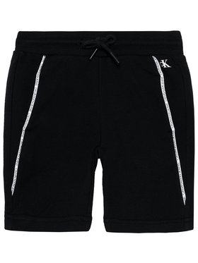 Calvin Klein Jeans Calvin Klein Jeans Спортни шорти Logo Piping IB0IB00929 Черен Regular Fit