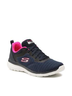 Skechers Skechers Scarpe Quick Path 12607/NVHP Blu scuro