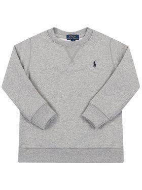Polo Ralph Lauren Polo Ralph Lauren Majica dugih rukava Logo Embroidery 321772102 Siva Regular Fit