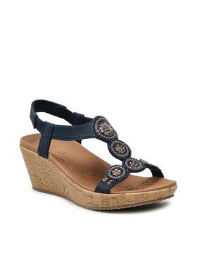 Skechers Skechers Sandále Date Glam 119010/NVY Tmavomodrá
