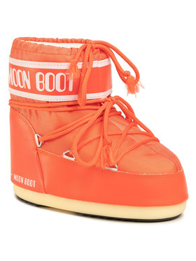 Moon Boot Moon Boot Śniegowce Classic Low 2 14093400004 Pomarańczowy
