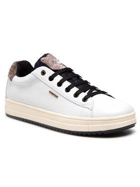 Geox Geox Sneakersy J Rebecca G. F J04BDF 00085 C1000 S Bílá