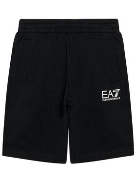 EA7 Emporio Armani EA7 Emporio Armani Pantaloni scurți sport 3KBS51 BJ05Z 1200 Negru Regular Fit
