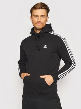 adidas adidas Bluză adicolor Classics 3-Stripes H06676 Negru Regular Fit