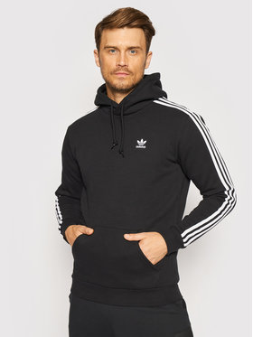 adidas adidas Pulóver adicolor Classics 3-Stripes H06676 Fekete Regular Fit