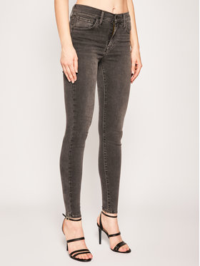Levi's® Levi's® Skinny Fit džínsy 720™ 52797-0093 Čierna Skinny Fit