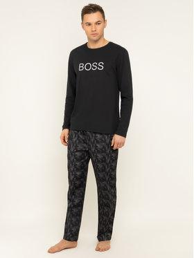Boss Boss Pyžamo Fashion Long Set 50420224 Šedá