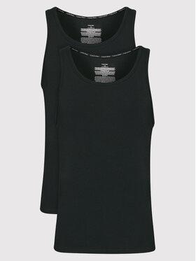 Calvin Klein Underwear Calvin Klein Underwear Sada 2 kusů tank topů 000NB1099A Černá Slim Fit