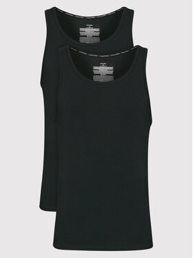 Calvin Klein Underwear Calvin Klein Underwear Set 2 Tank top-uri 000NB1099A Negru Slim Fit