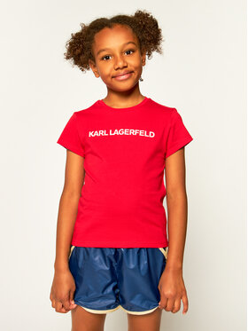 KARL LAGERFELD KARL LAGERFELD T-shirt Z15222 M Rouge Regular Fit