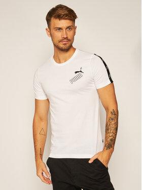 Puma Puma T-Shirt Amplified Tee 583510 Bílá Regular Fit