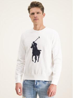 Polo Ralph Lauren Polo Ralph Lauren Mikina 710766862011 Biela Regular Fit
