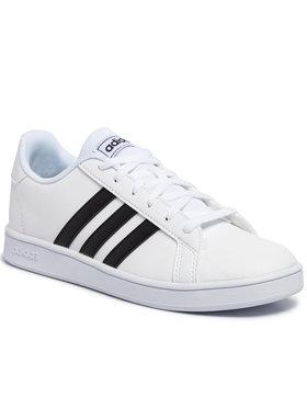 adidas adidas Buty Grand Court K EF0103 Biały