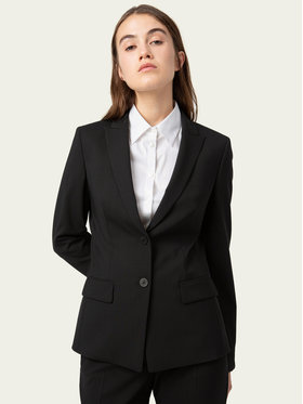 Hugo Hugo Blazer The Long-2 50440496 Schwarz Regular Fit