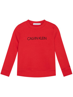 Calvin Klein Jeans Calvin Klein Jeans Mikina IU0IU00162 Oranžová Regular Fit
