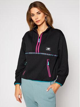 New Balance New Balance Sweatshirt Nb Ter Qtr Zip NBWT03529 Schwarz Oversize