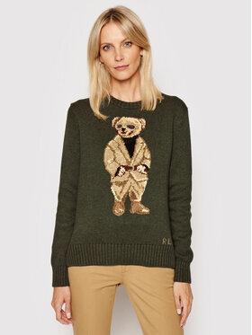 Polo Ralph Lauren Polo Ralph Lauren Sweater Lsl 211839022001 Zöld Regular Fit