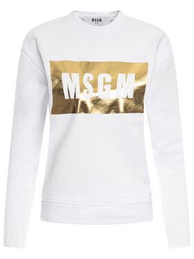 MSGM MSGM Felpa 2841MDM96 207299 01A Bianco Regular Fit