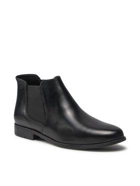 Tamaris Tamaris Členková obuv s elastickým prvkom 1-25032-27 Čierna
