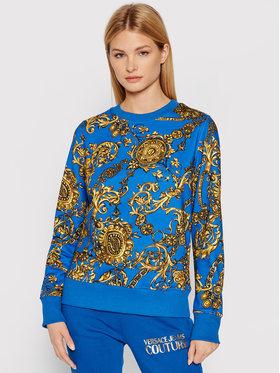 Versace Jeans Couture Versace Jeans Couture Mikina 71HAI309 Modrá Regular Fit